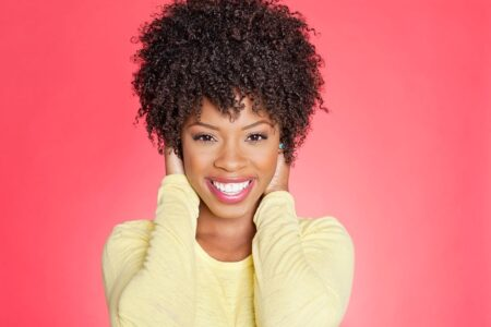 How to Make Short 4c Hair Curly
